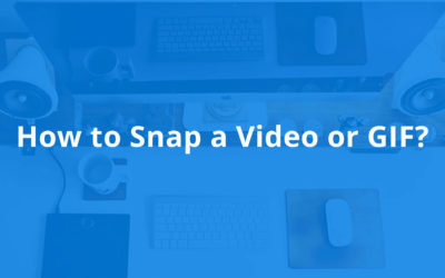 How to Snap a Movie or GIF with Snappi?
